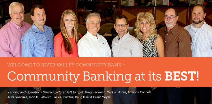 Welcome to River Valley Community Bank